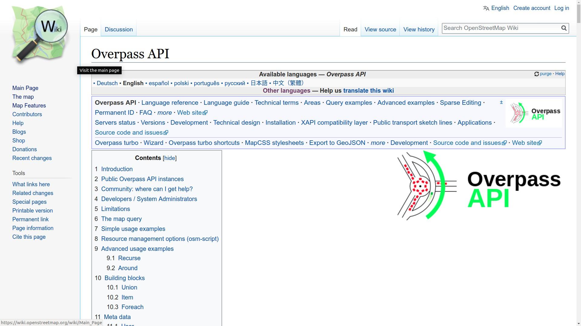 Overpass API
