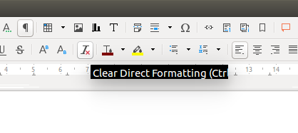 LibreOffice tooltips