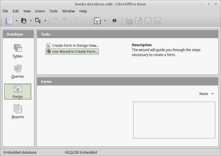 LibreOffice: Forms