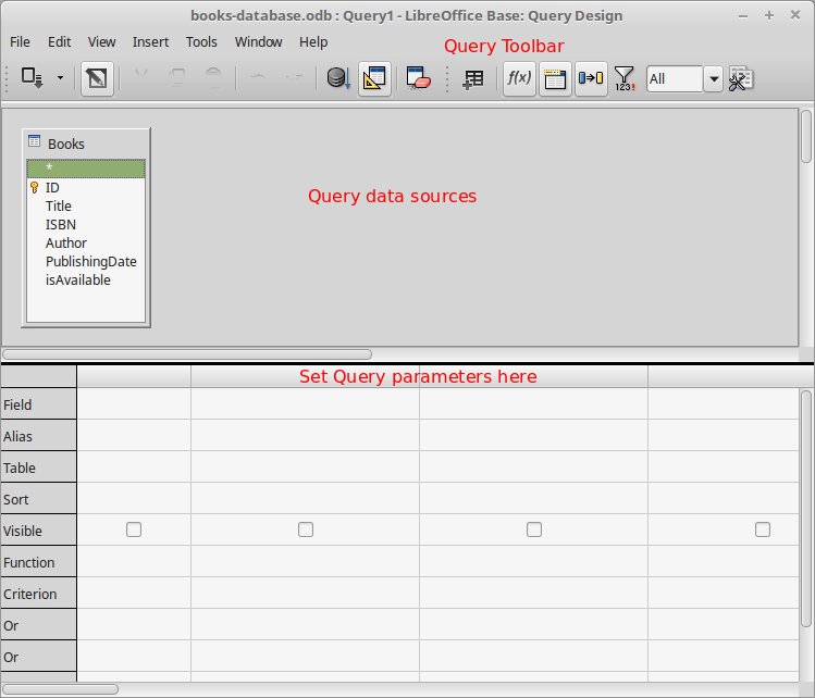 Libreoffice Base Sample Application