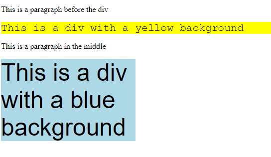 div width