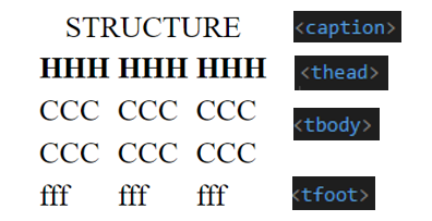 Table HTML